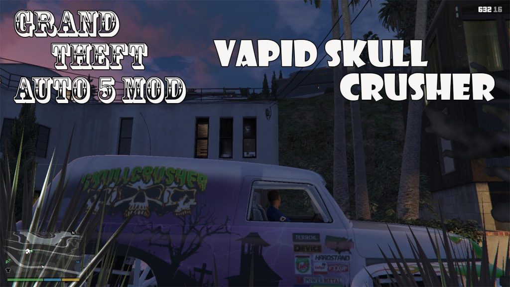 Vapid Skull Crusher Mod For GTA5