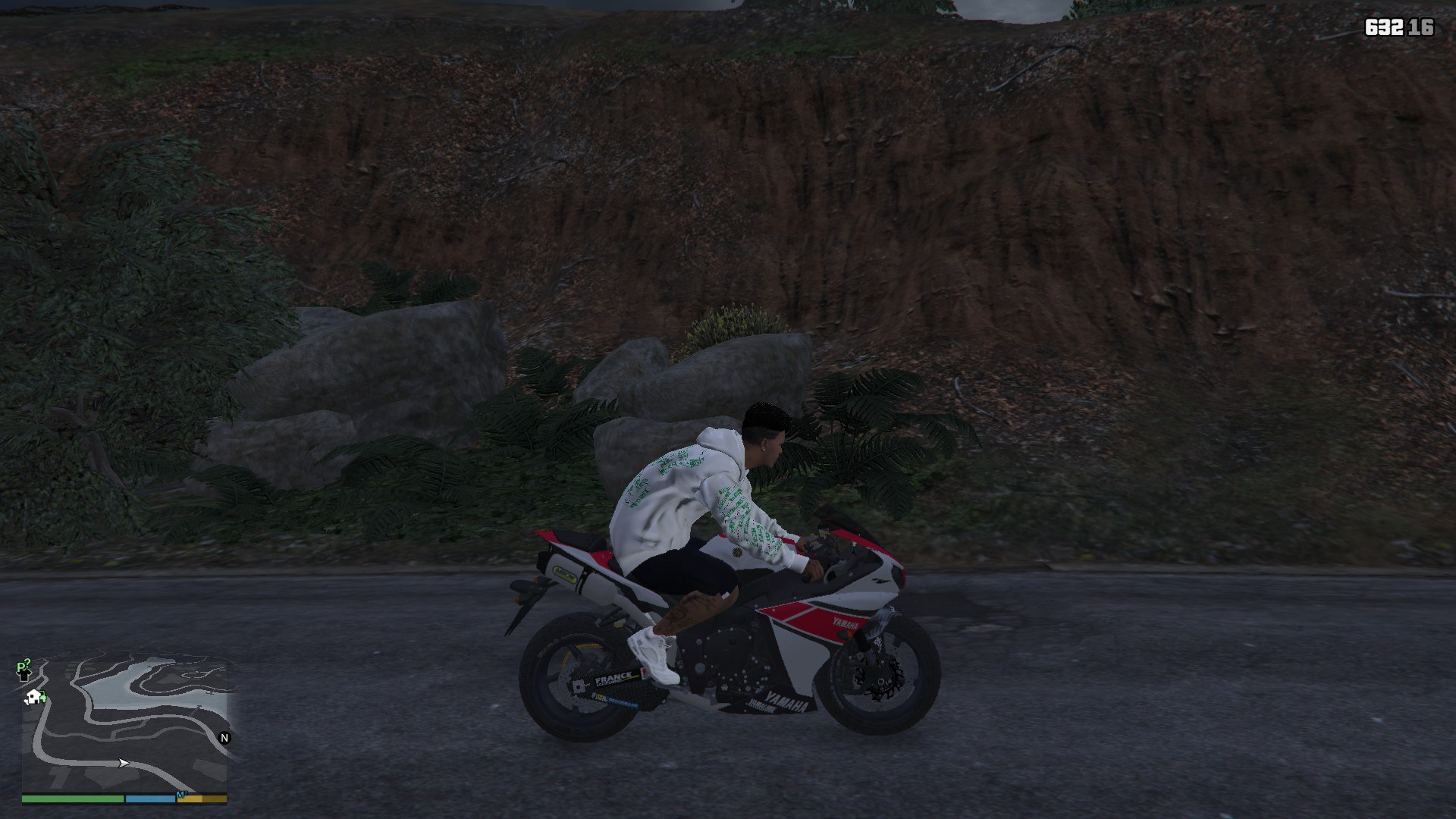 Yamaha R1 2014 GTA5 Mods (13)