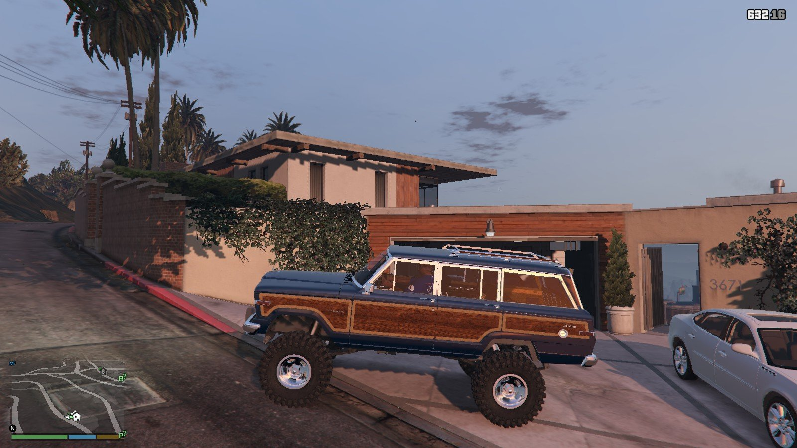 1990 Jeep Grand Wagoneer GTA5 Mods (1)