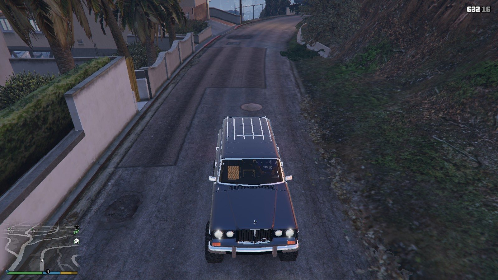 1990 Jeep Grand Wagoneer GTA5 Mods (11)