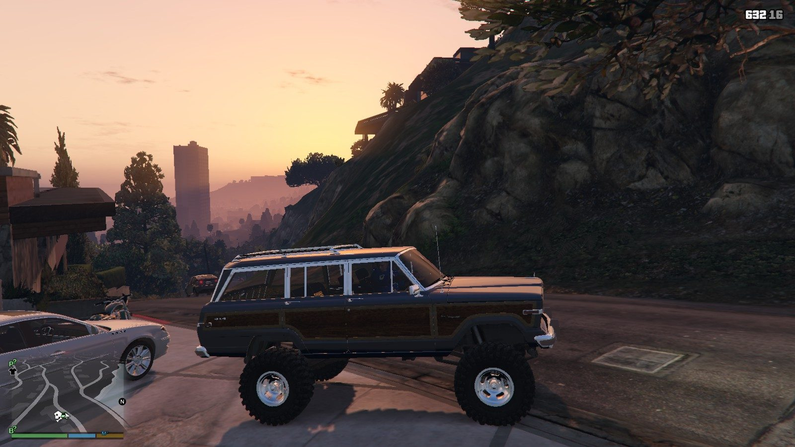 1990 Jeep Grand Wagoneer GTA5 Mods (3)