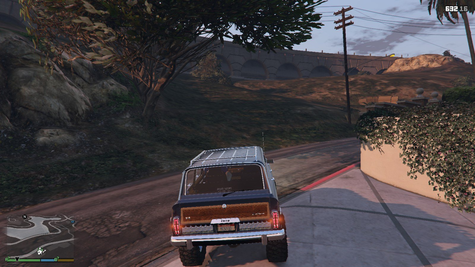 1990 Jeep Grand Wagoneer GTA5 Mods (4)