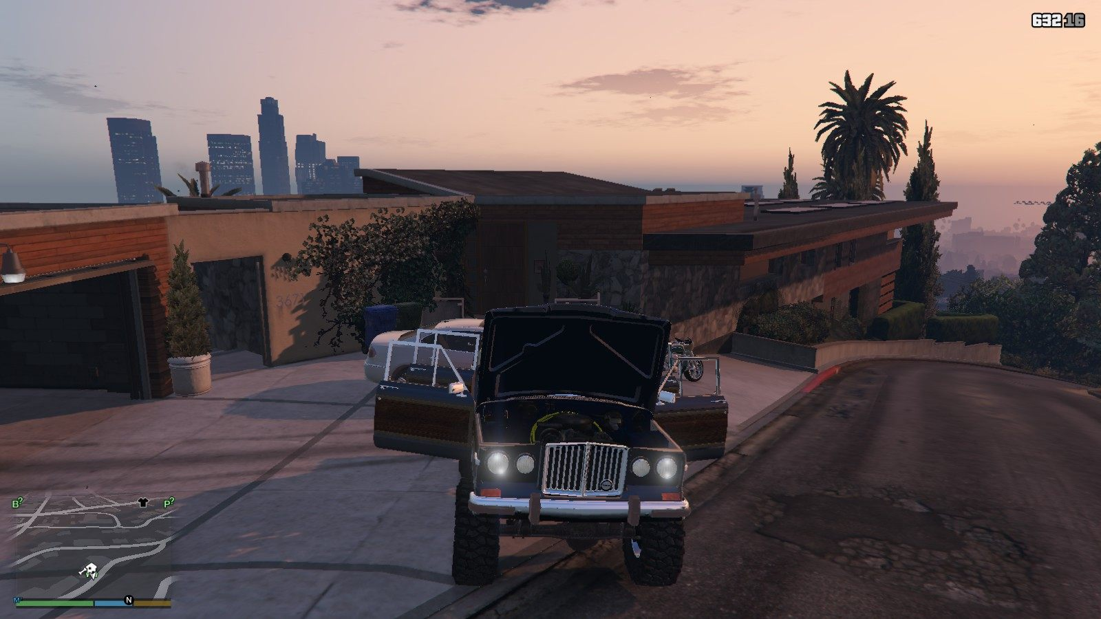 1990 Jeep Grand Wagoneer GTA5 Mods (5)