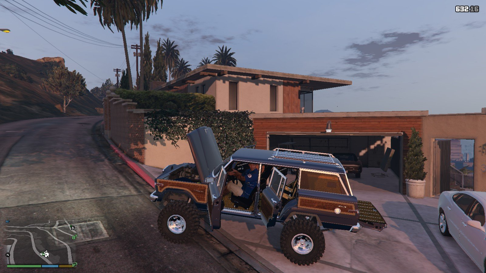1990 Jeep Grand Wagoneer GTA5 Mods (6)