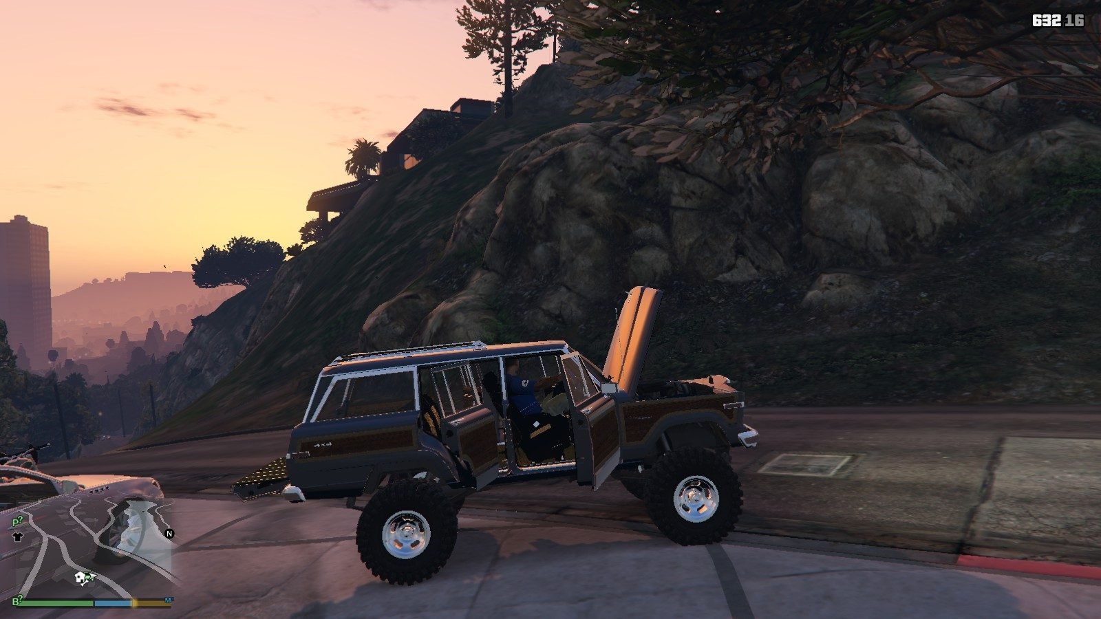 1990 Jeep Grand Wagoneer GTA5 Mods (8)