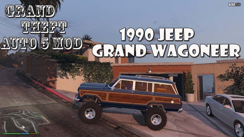 1990 Jeep Grand Wagoneer Mod For GTA5
