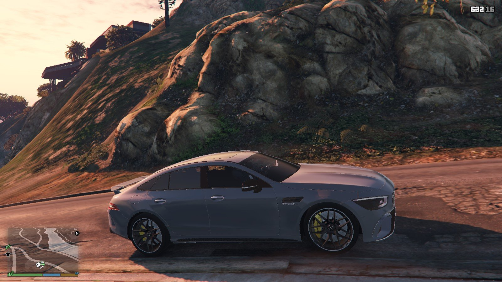 2019 Mercedes AMG GT63S GTA5 Mods (3)