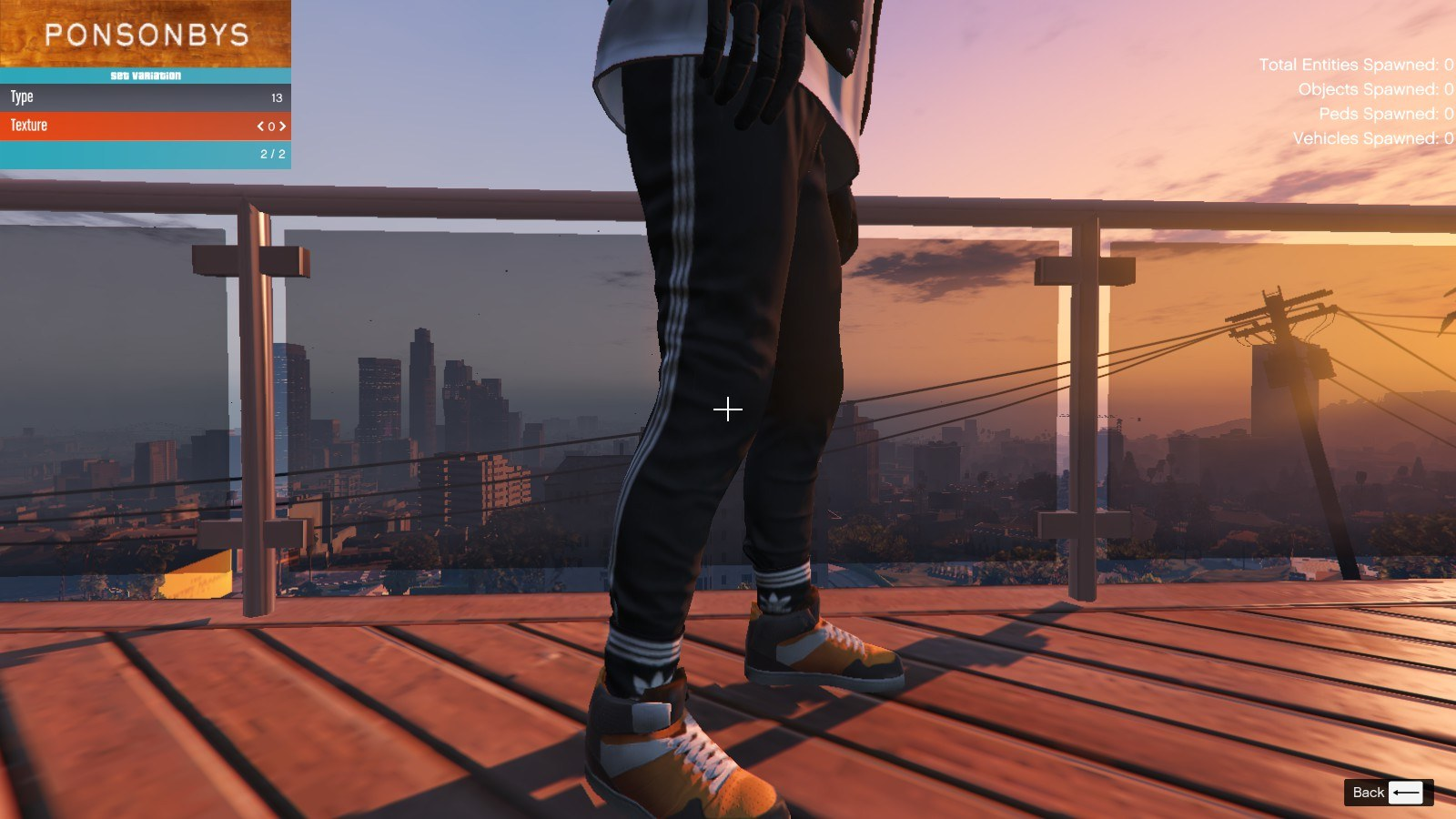 Addidas and Socks For Franklin GTA5 Mods (1)