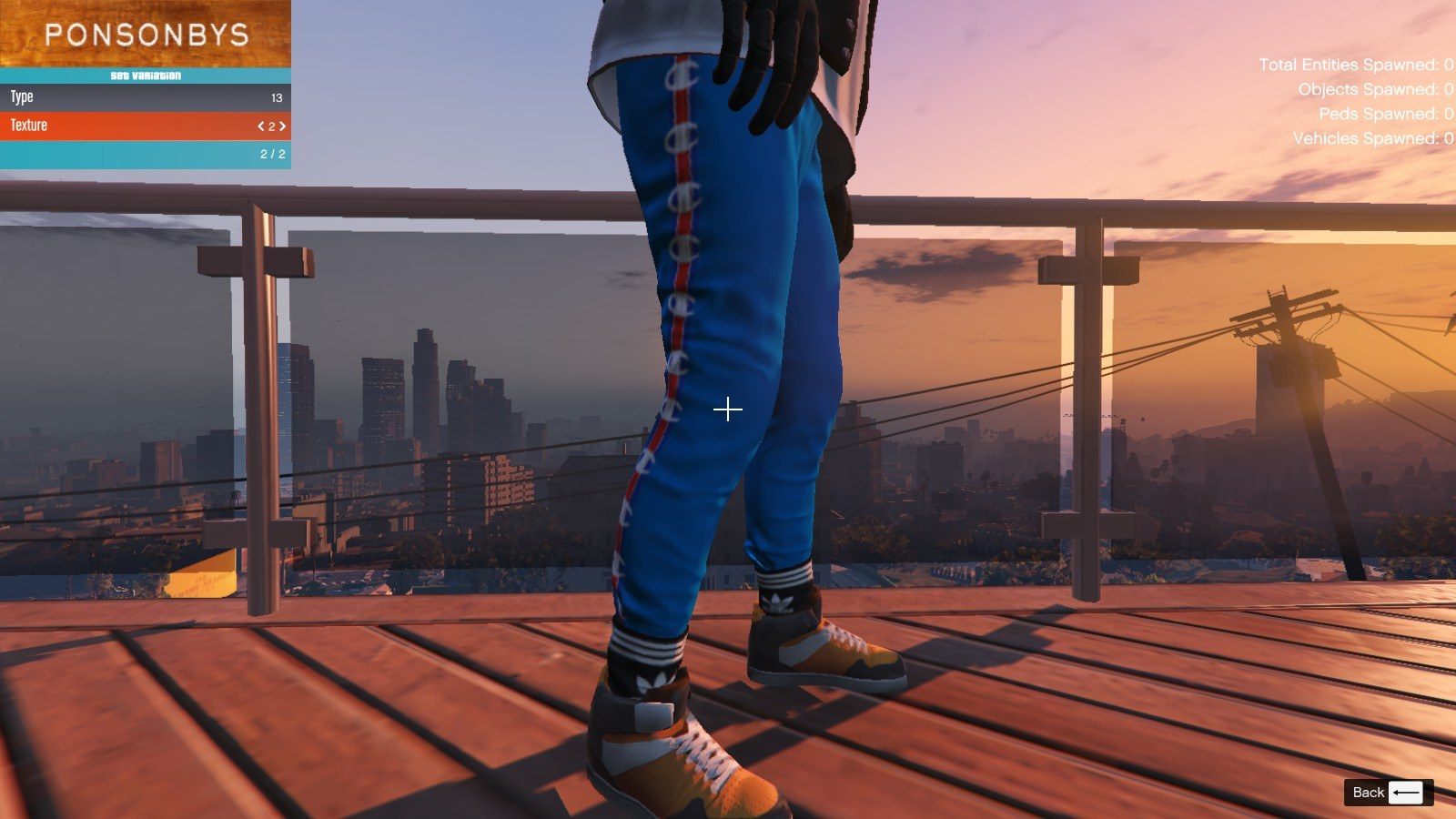 Addidas and Socks For Franklin GTA5 Mods (3)