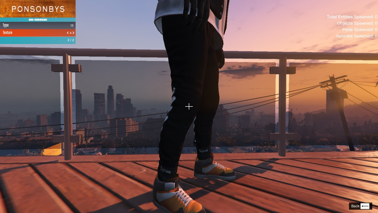 Addidas and Socks For Franklin GTA5 Mods (5)