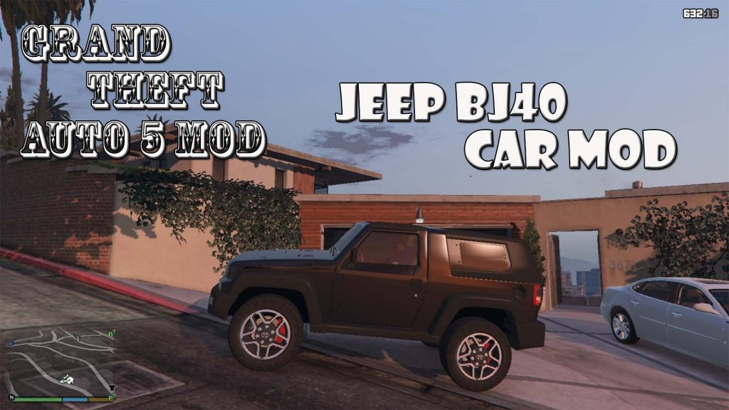 Jeep BJ40 Mod For GTA5