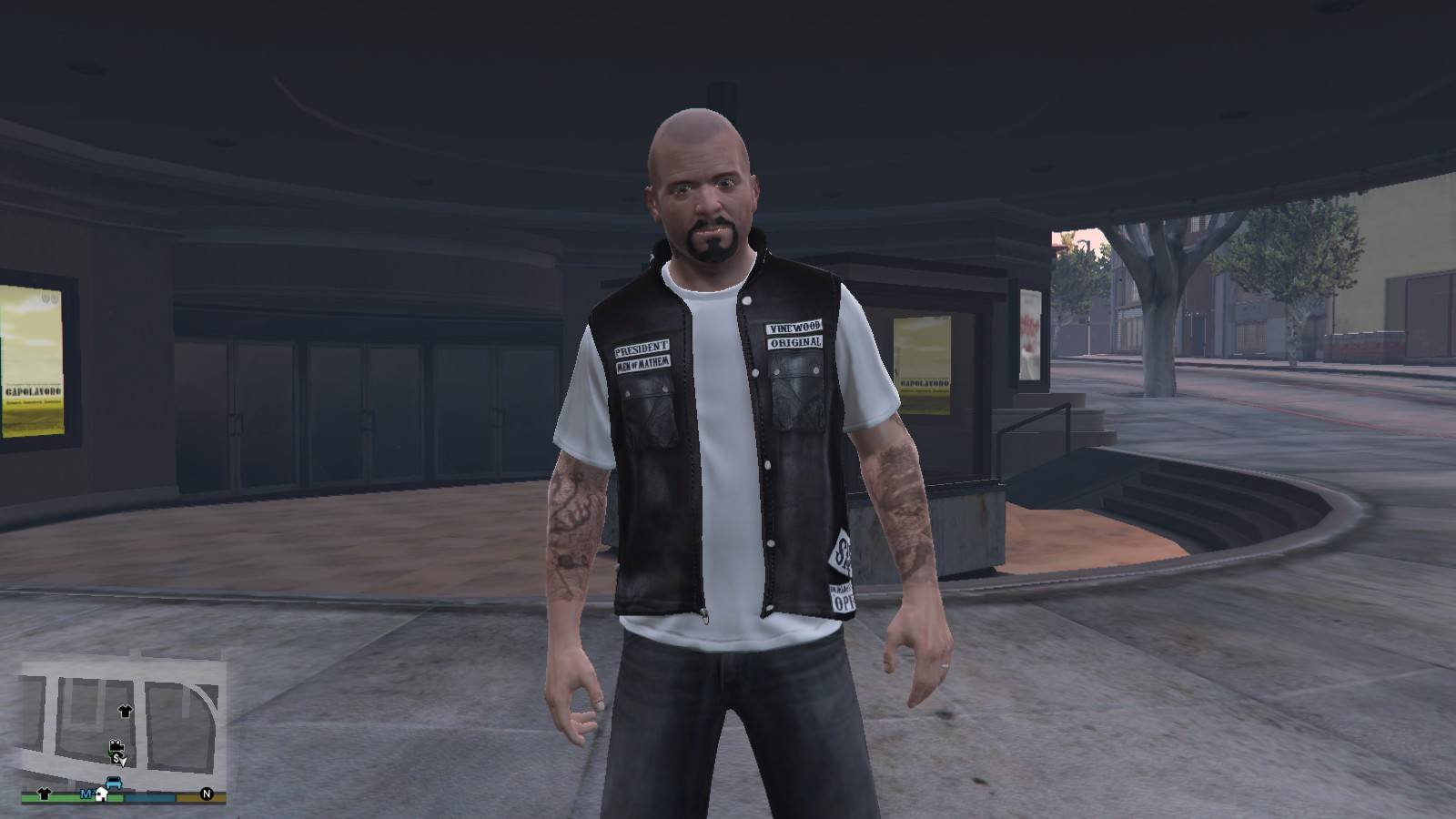 Biker Shirt Sons Of Anarchy GTA5 Mods (1)