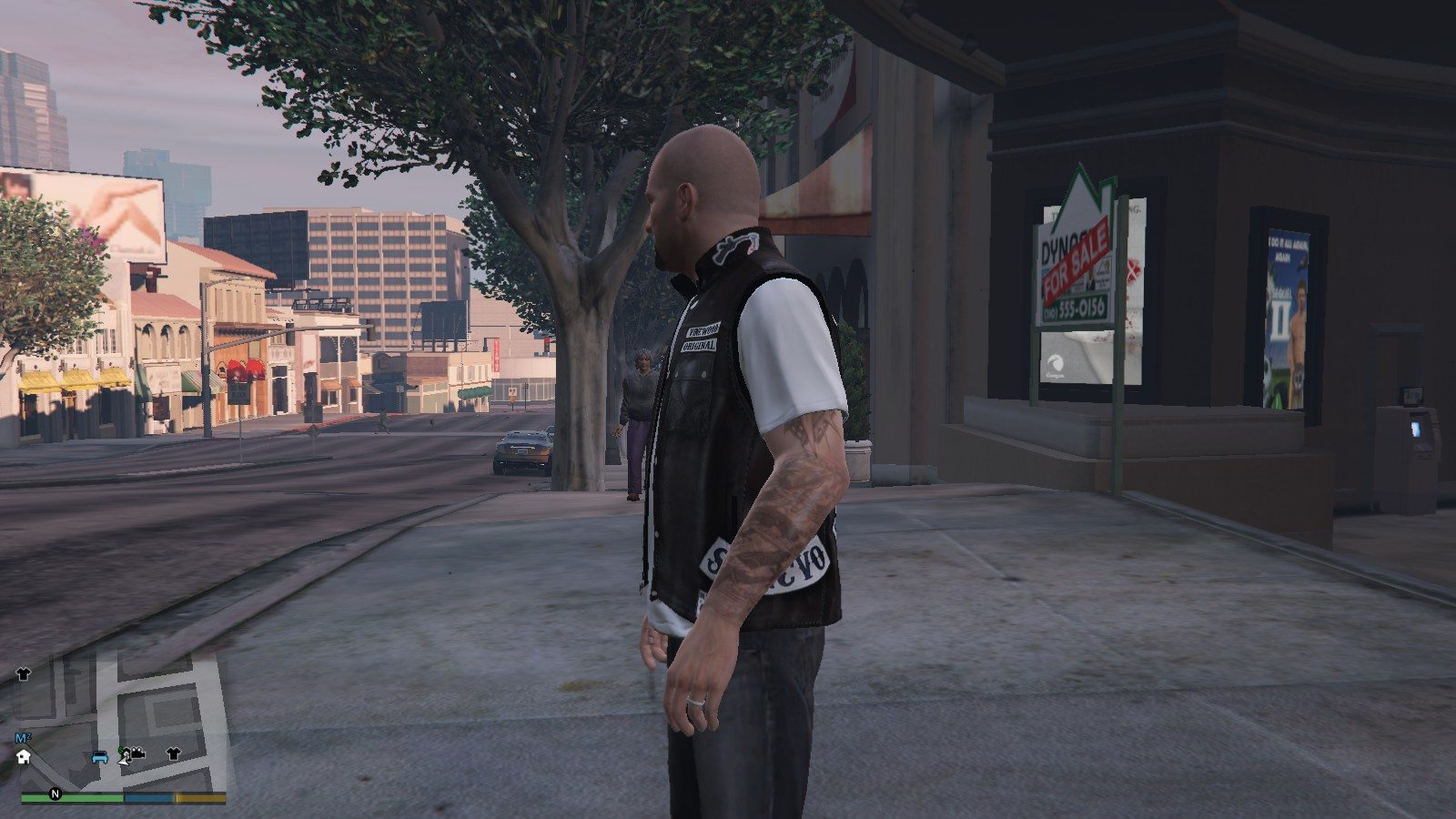 Biker Shirt Sons Of Anarchy GTA5 Mods (3)