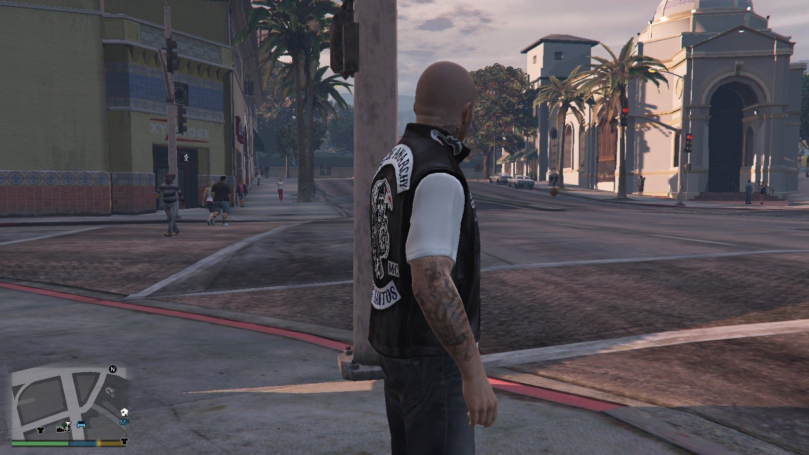 Biker Shirt Sons Of Anarchy GTA5 Mods (4)
