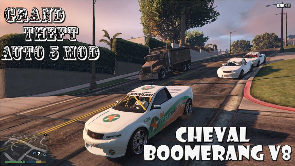 Cheval Boomerang V8 Mod For GTA5