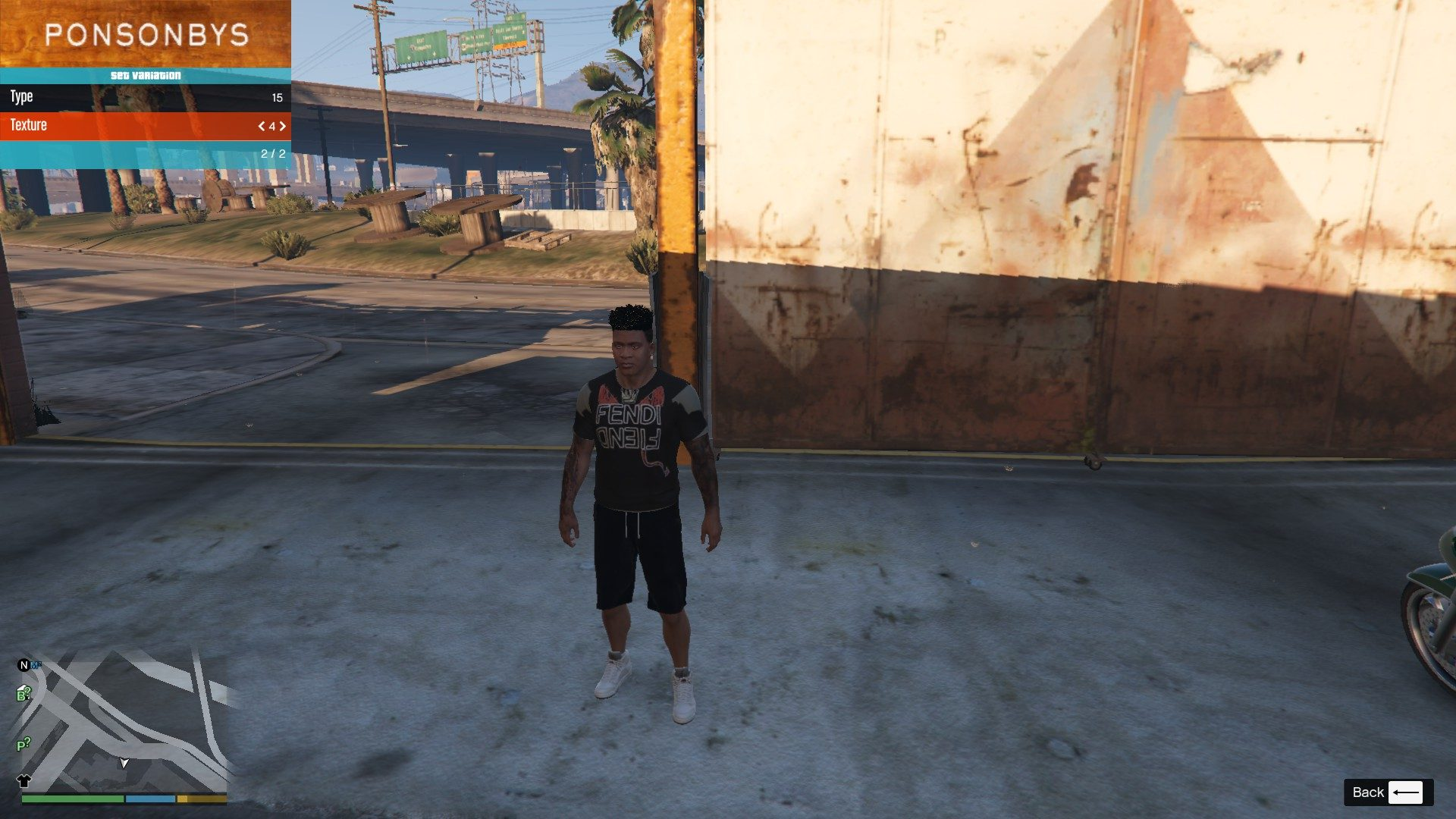 Clothing Pack For Franklin GTA5 Mods (5)