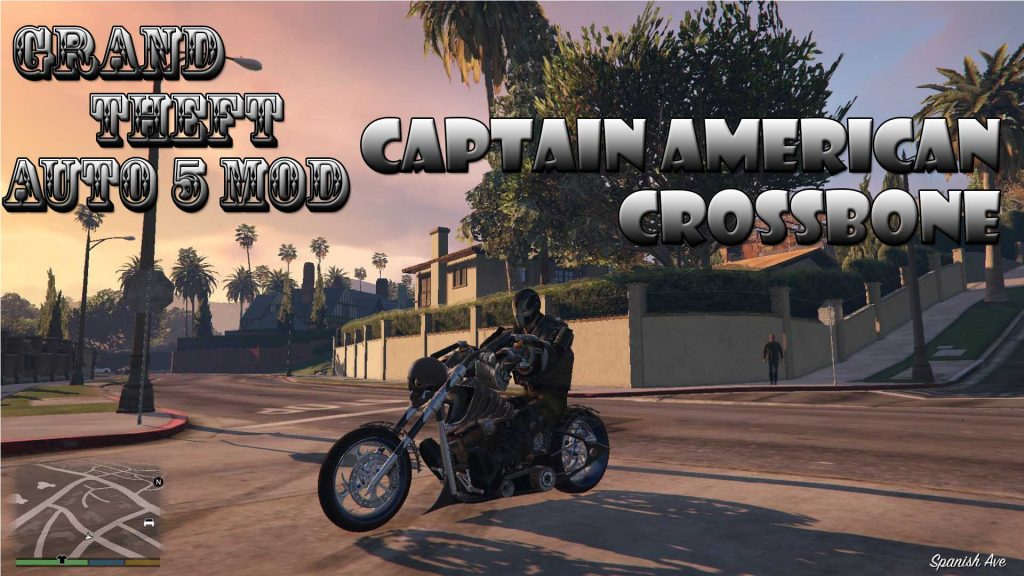 CrossBones in Captain American Mod For GTA5