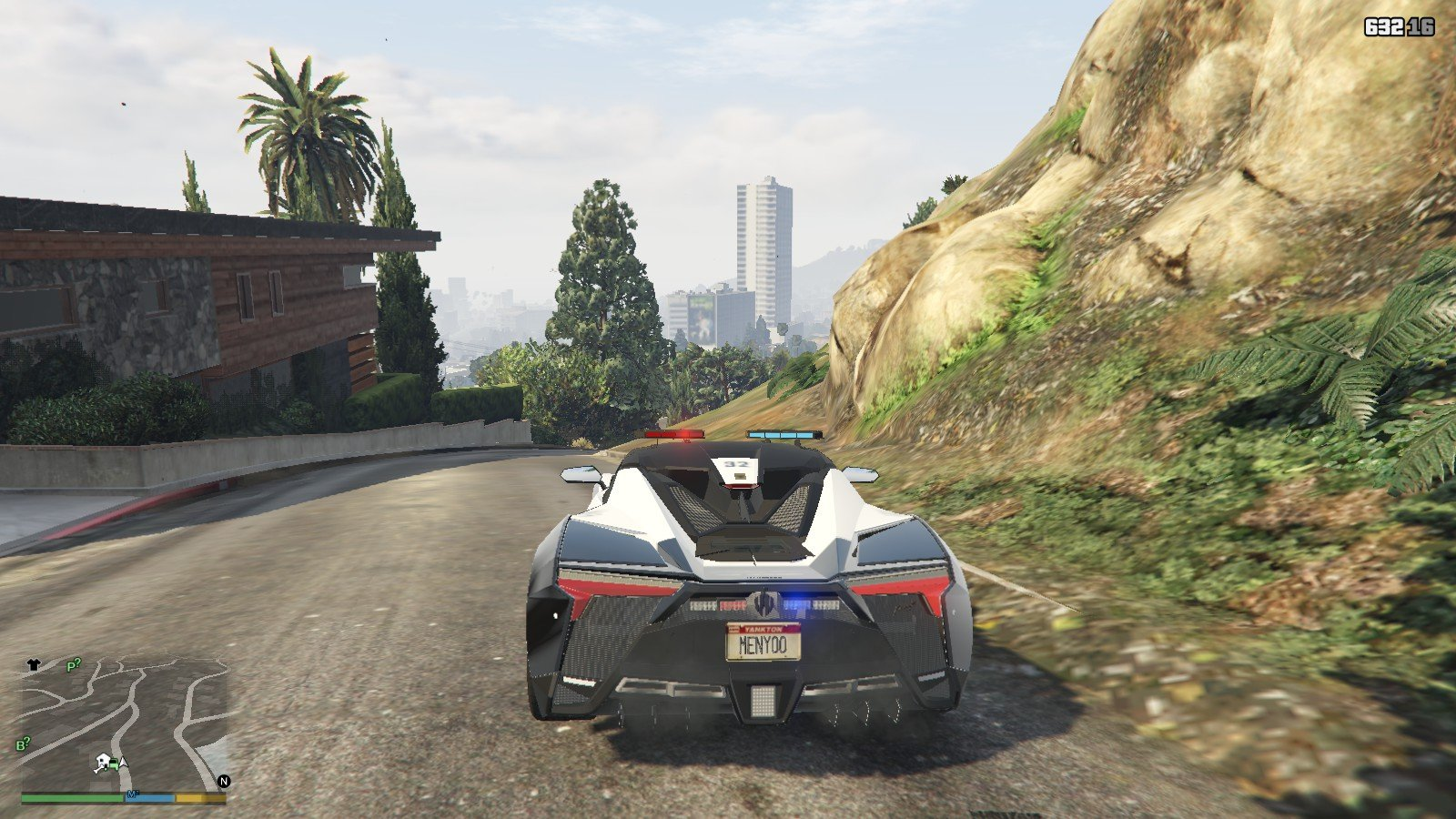Fenyr Supersport Police Car Mod For GTA5 - 9Gta | GTA Mods