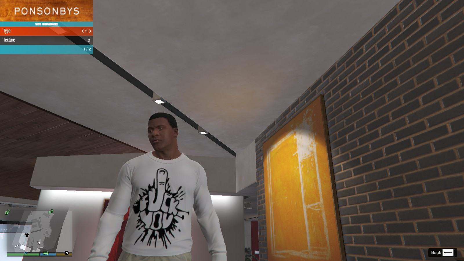 Fuck You T-Shirt GTA5 Mods (1)