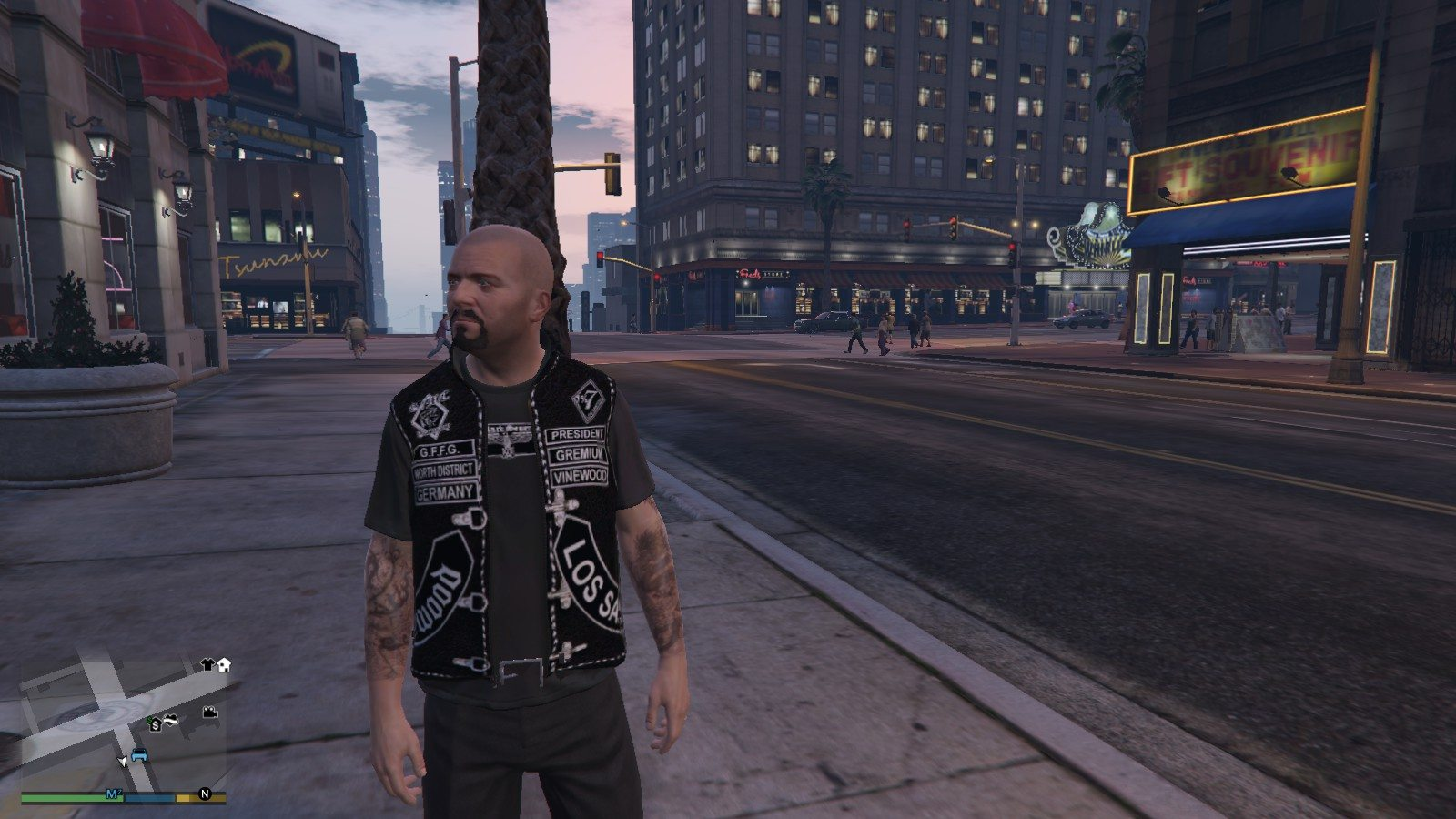 Gremium Germany Gille For Micheal GTA5 Mods (1)