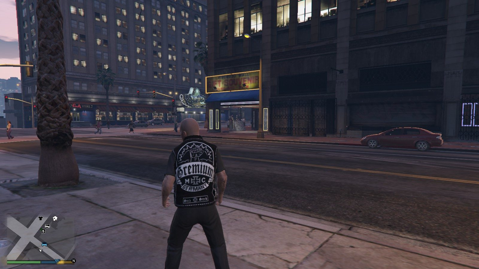 Gremium Germany Gille For Micheal GTA5 Mods (2)