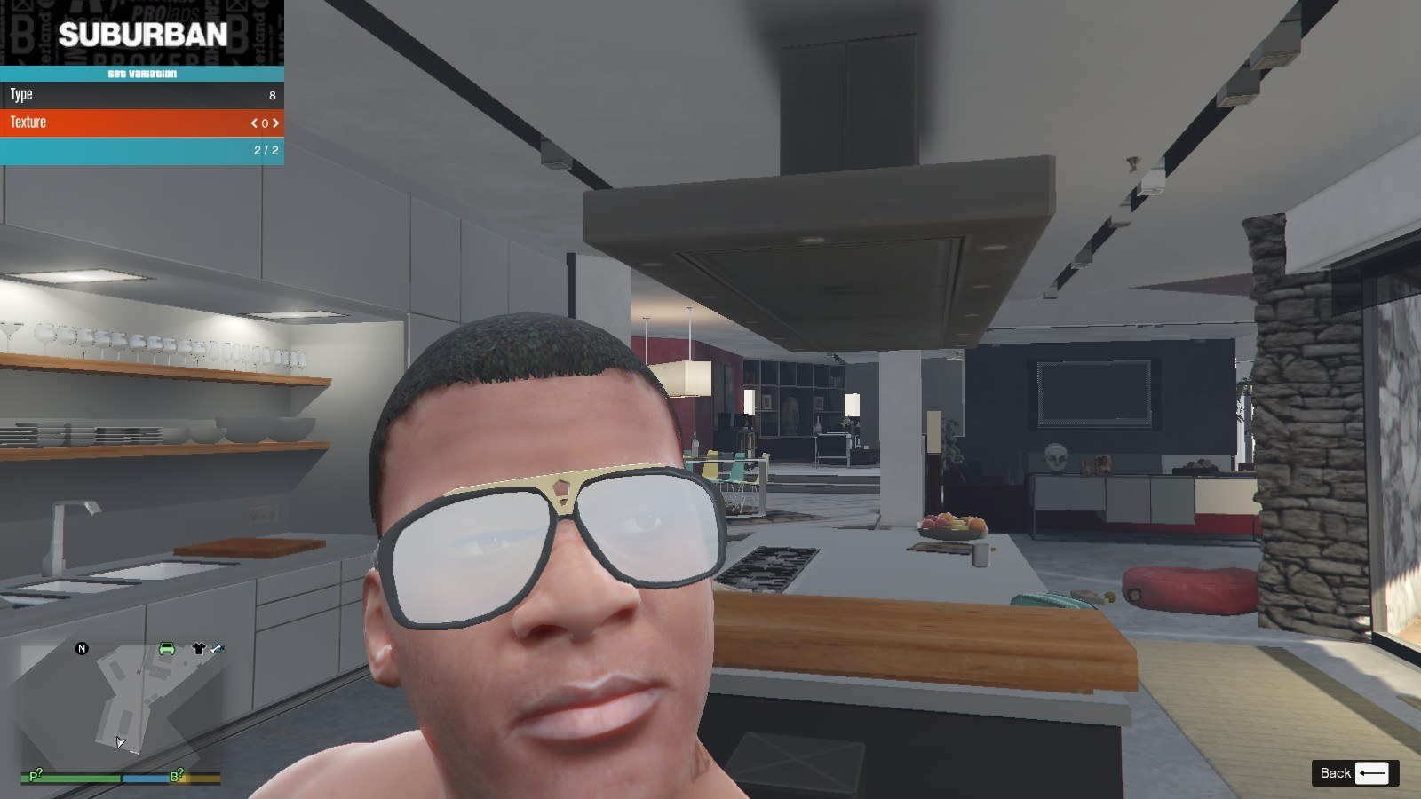 Gucci Glasse GTA5 Mods (1)