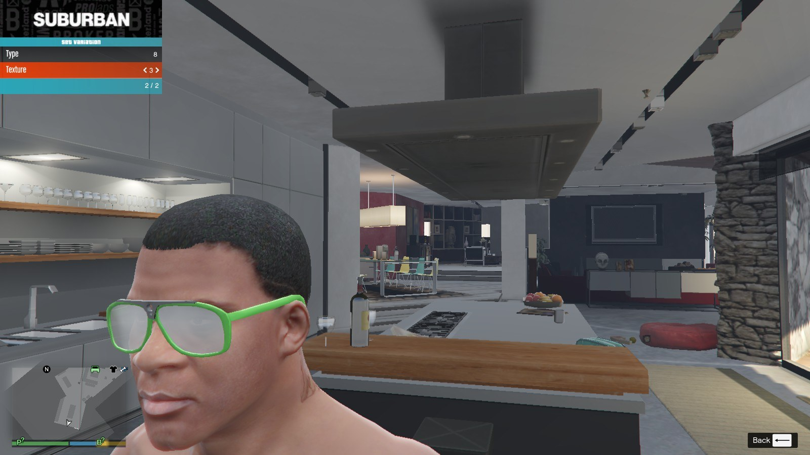 Gucci Glasse GTA5 Mods (4)