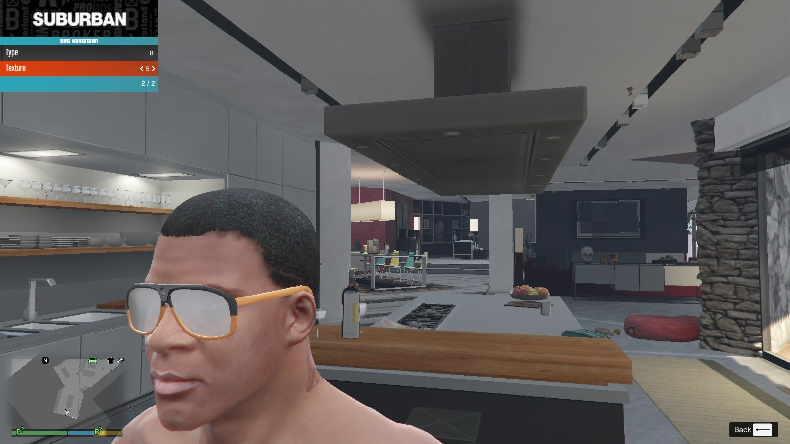 Gucci Glasse GTA5 Mods (6)