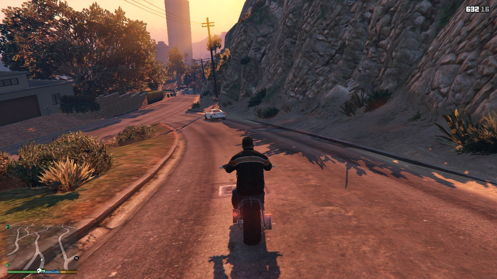 Harley Davidson Motocycle Leather Jacket GTA5 Mods (4)