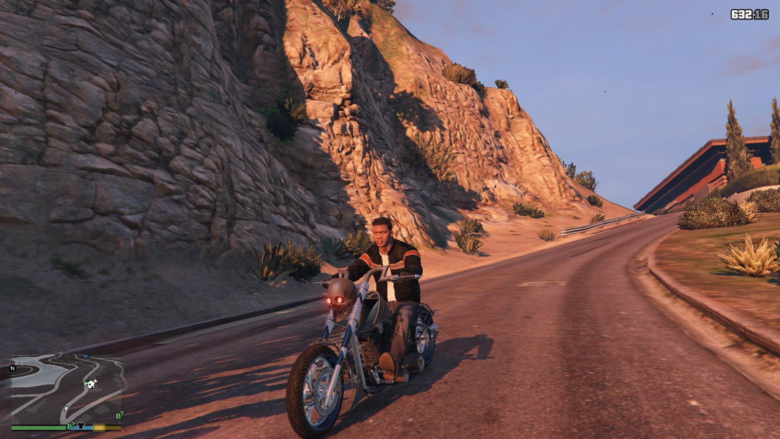 Harley Davidson Motocycle Leather Jacket GTA5 Mods (5)