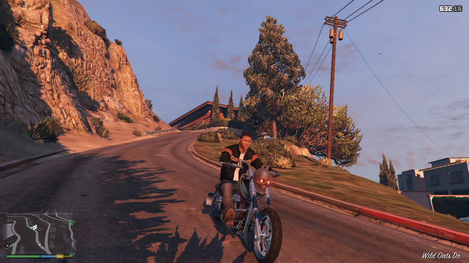 Harley Davidson Motocycle Leather Jacket GTA5 Mods (6)