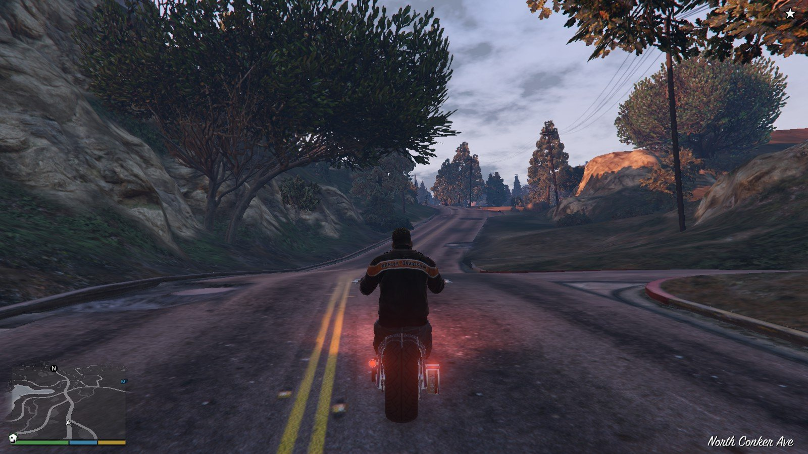 Harley Davidson Motocycle Leather Jacket GTA5 Mods (8)