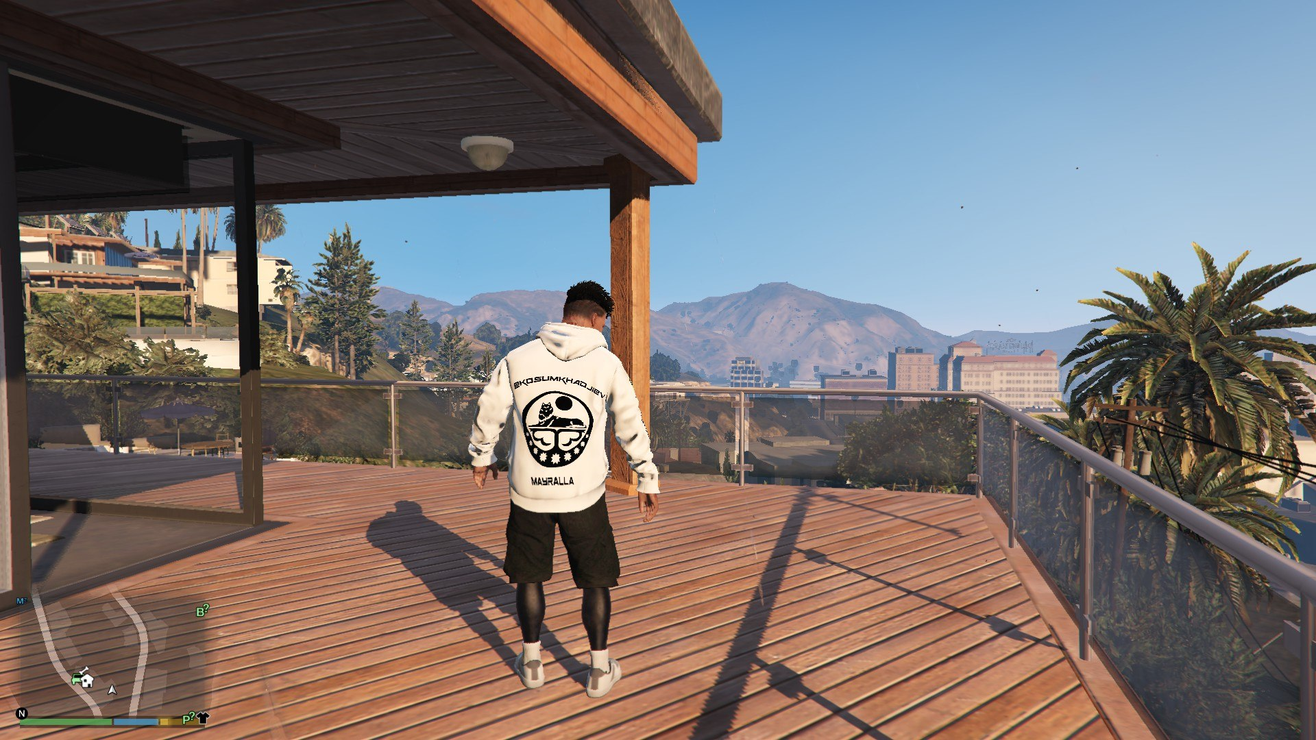 Hoodie Mayralla Chechen Woft For Franklin GTA5 Mods (1)