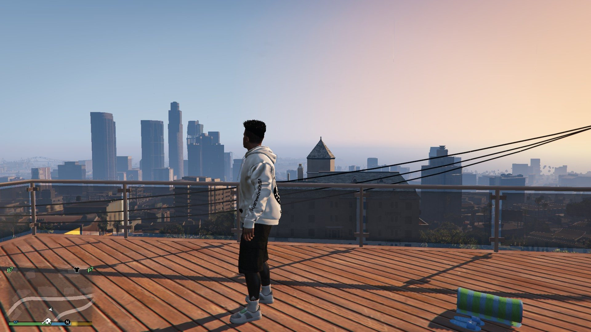Hoodie Mayralla Chechen Woft For Franklin GTA5 Mods (4)