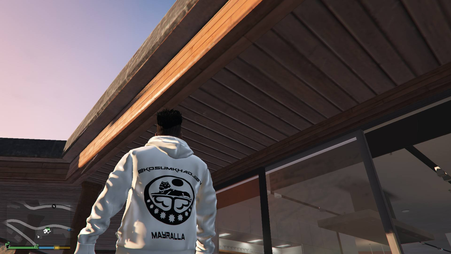 Hoodie Mayralla Chechen Woft For Franklin GTA5 Mods (5)
