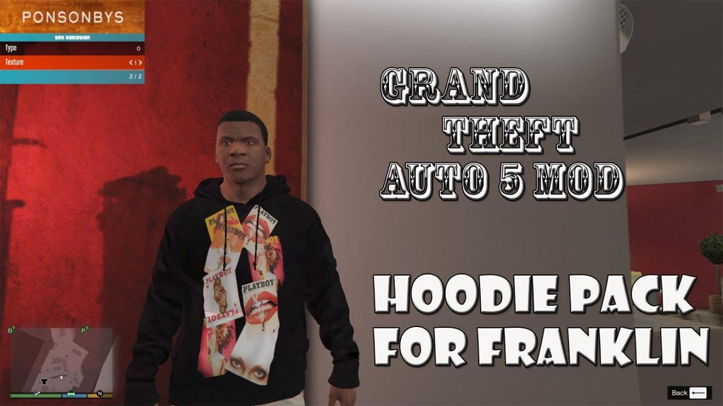 Hoodie Packs For Franklin Mod For GTA5