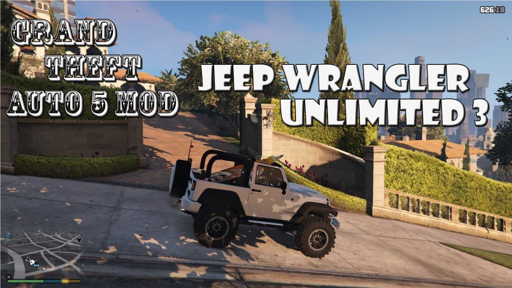 Jeep Wrangler Unlimited 3 Mod For GTA5