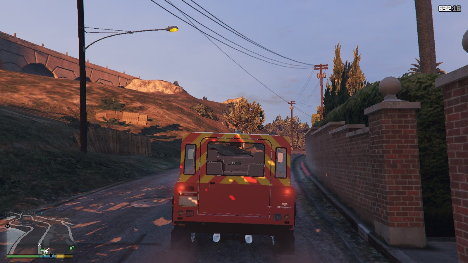 Land Rover Defender GTA5 Mods (11)