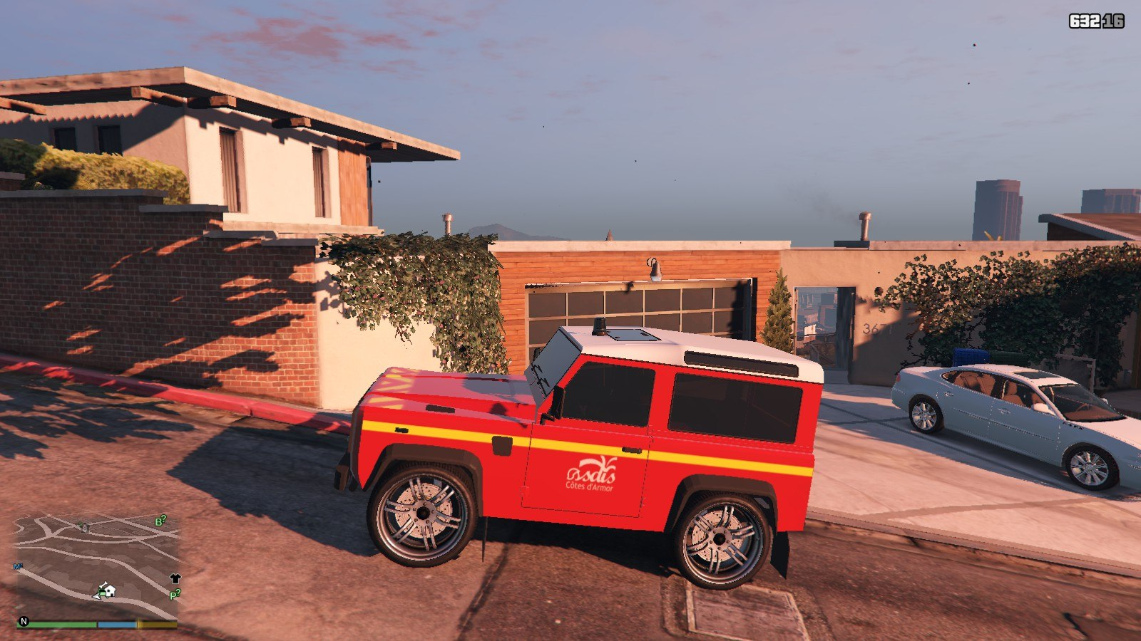 Land Rover Defender GTA5 Mods (2)
