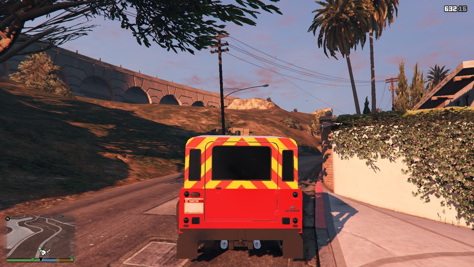 Land Rover Defender GTA5 Mods (3)