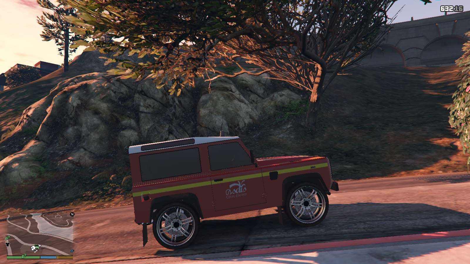 Land Rover Defender GTA5 Mods (4)