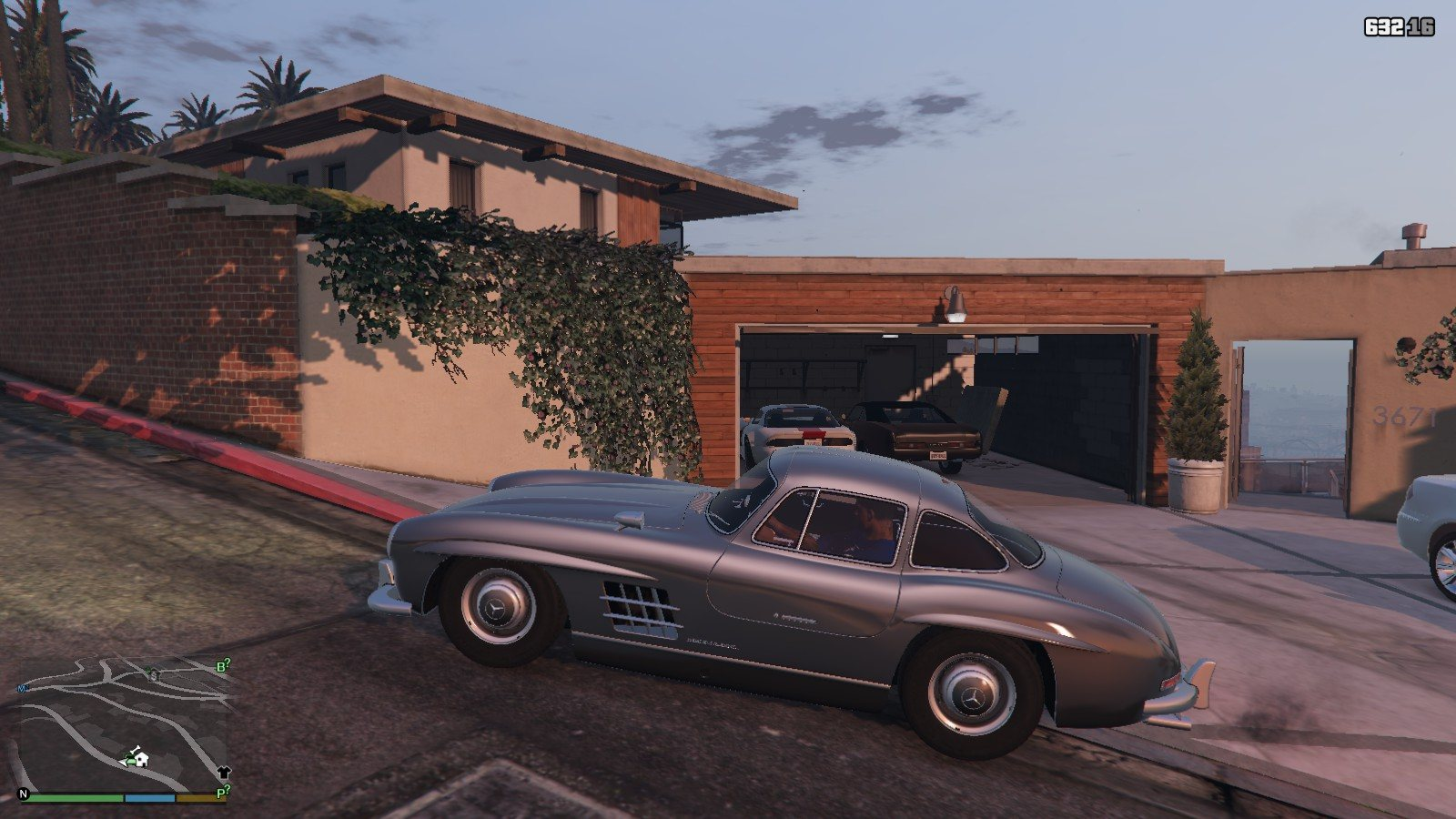 Mercedes Benz 300SL GTA5 Mods (1)