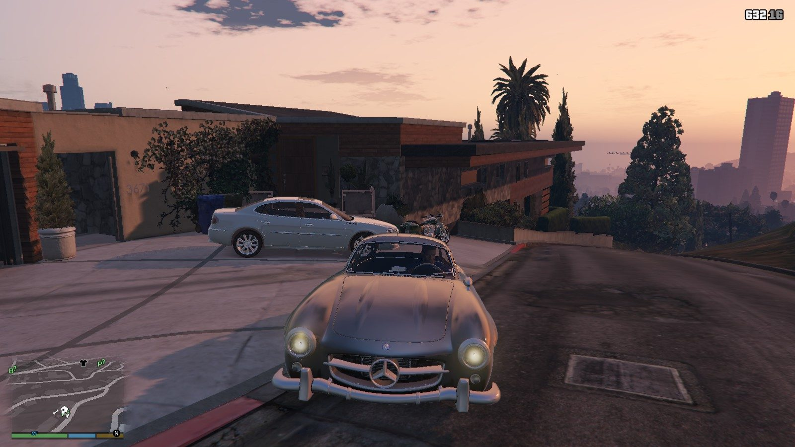 Mercedes Benz 300SL GTA5 Mods (2)