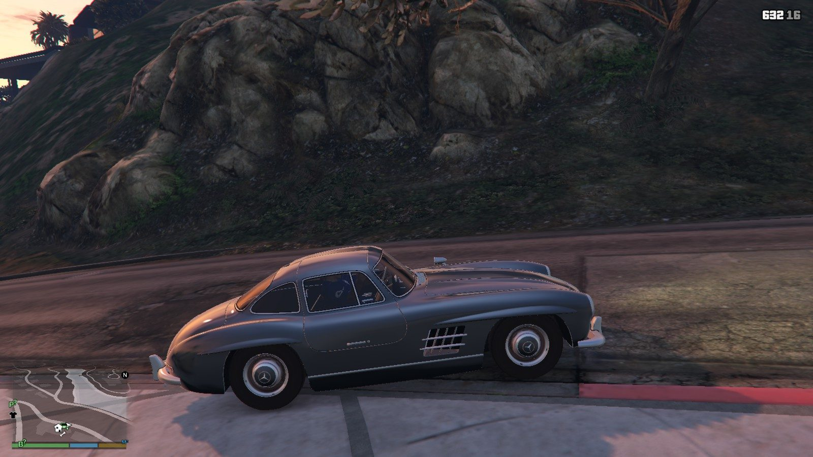 Mercedes Benz 300SL GTA5 Mods (3)
