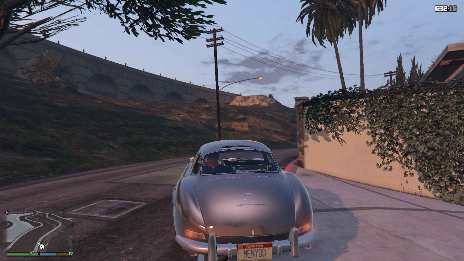 Mercedes Benz 300SL GTA5 Mods (4)