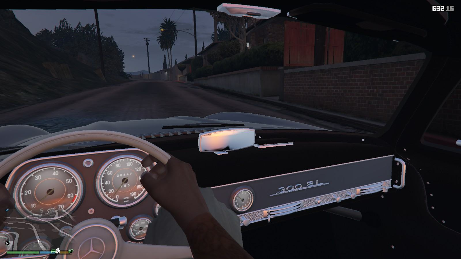 Mercedes Benz 300SL GTA5 Mods (7)