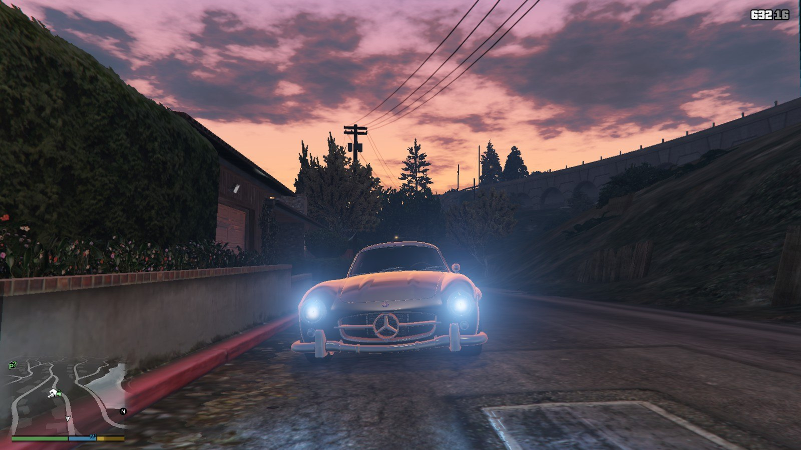 Mercedes Benz 300SL GTA5 Mods (8)