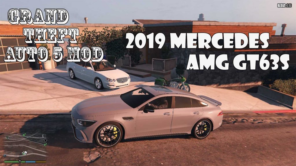 2019 Mercedes AMG GT63S Beta Mod For GTA5