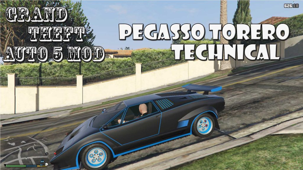 Pegasso Torero Technical Mod For GTA5