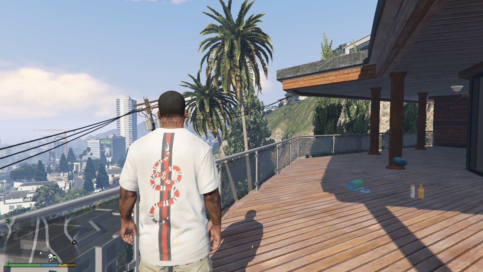 Supreme x Gucci T-Shirt GTA5 Mods (6)